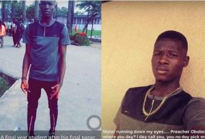 Final Year accounting student shot dead by rival student cult group after last paper