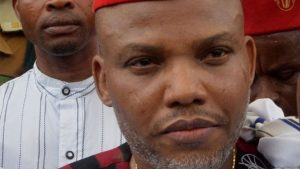 Nnamdi Kanu threatens to 'arrest' President Buhari in Japan