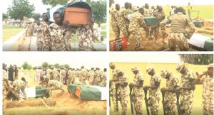 Jakana Ambush: Army Gives Slain Personnel State Burial